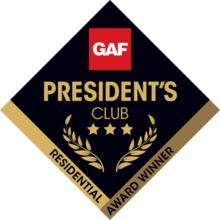 GAF Presidents Club badge
